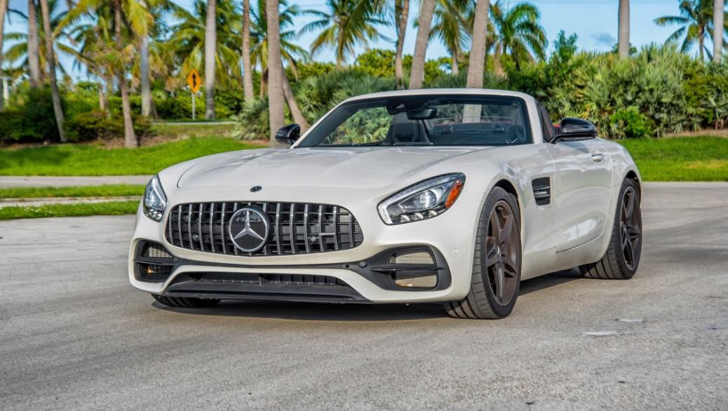 Mercedes Benz GT roadster 2018